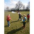 Paper bird racing