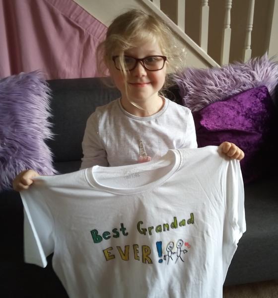 I've made Grandad a t-shirt!