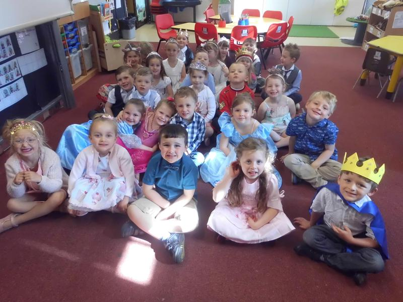 Look at our fabulous outfits!
