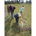 Nest and egg racing