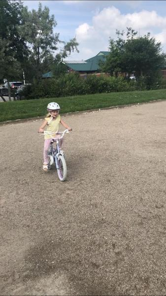 Riding my bike 🚲