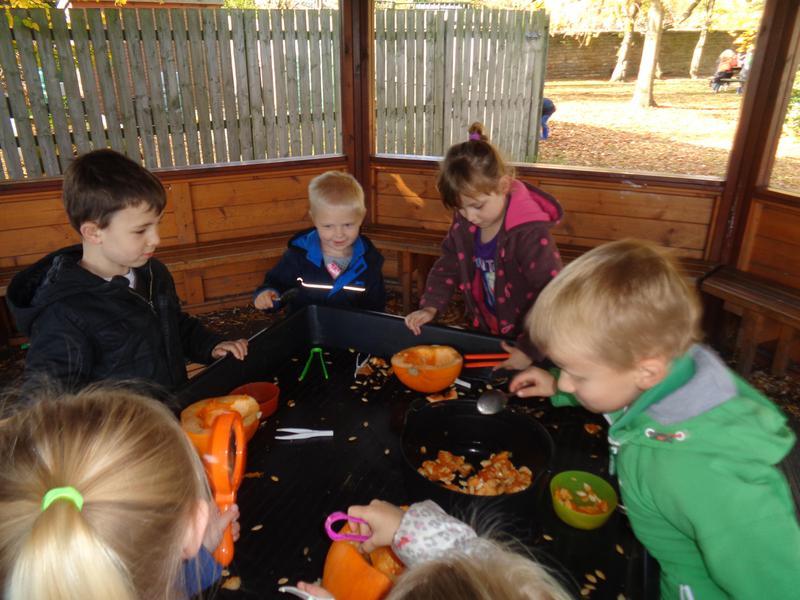 'Pumpkin guts' - dissecting a pumpkin