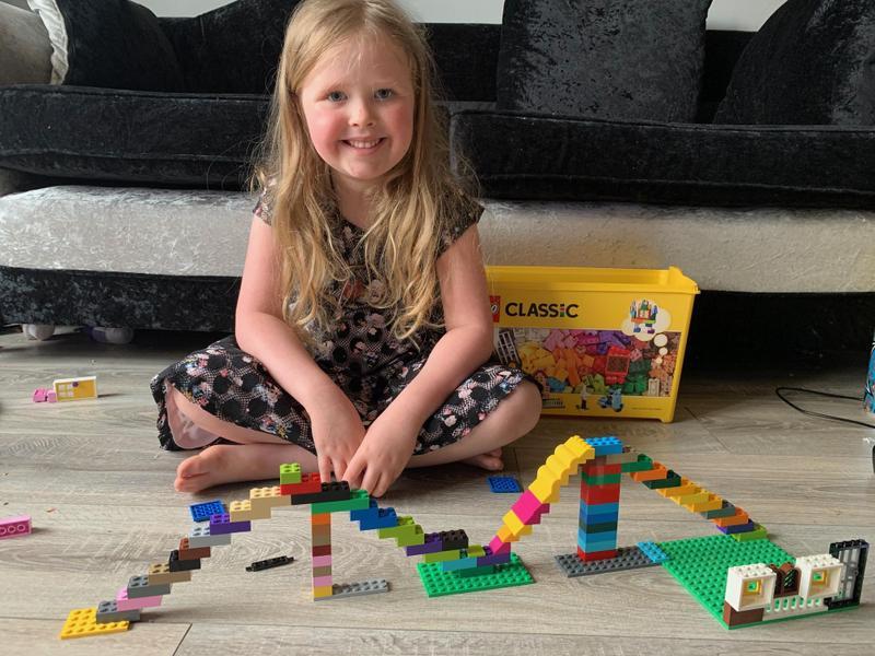 Super Lego construction