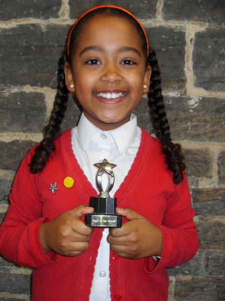 November Pupil of the Month