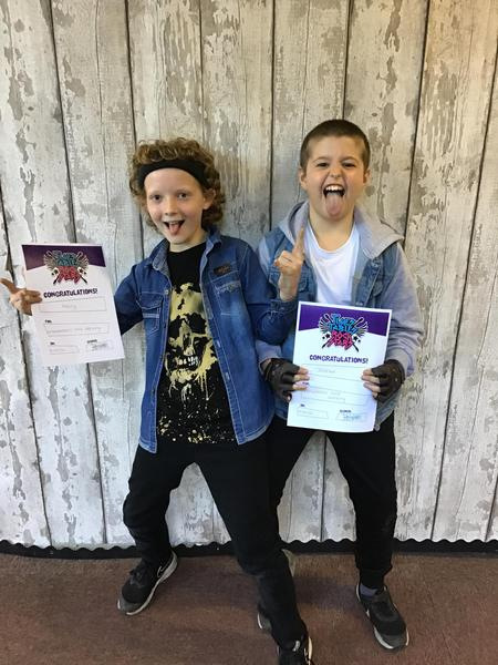Our enthusiastic rockers!
