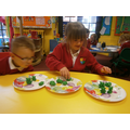 Sharing numbers and objects between groups
