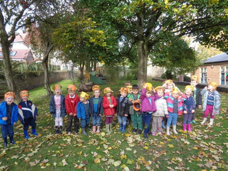 Do you like our colourful leaf crowns?