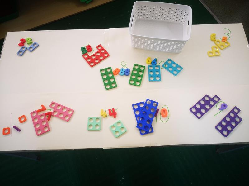 Matching numbers and Numicon
