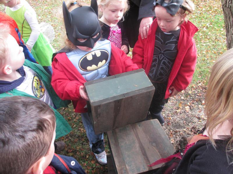 Good building Batman!