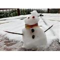 Miss Holden's snowman