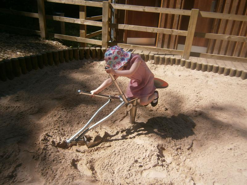 Digging in the Adventure Playground
