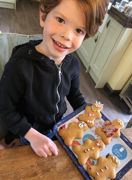 Look at my gingerbread men