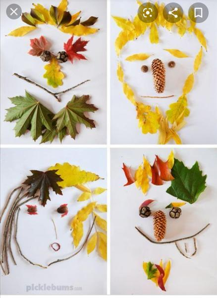 Natural art faces