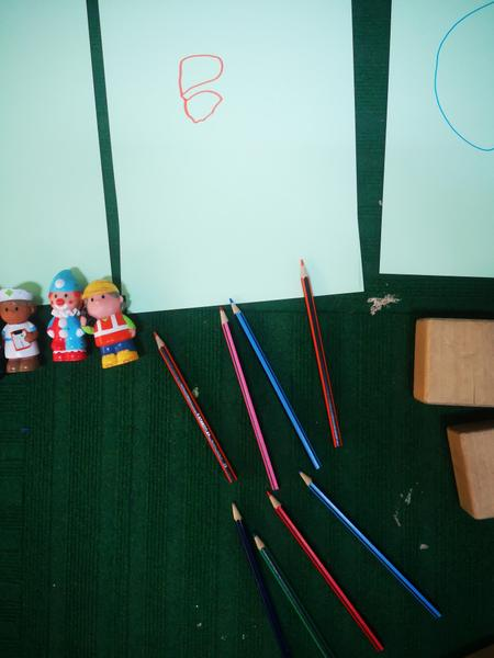 8 pencils