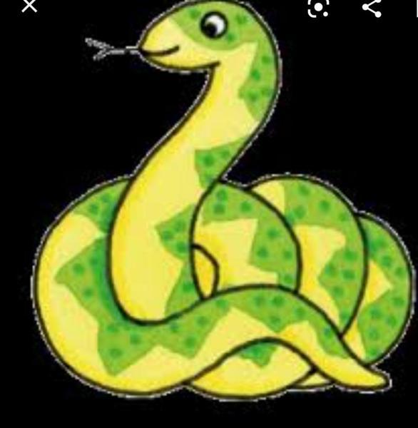 Be a snake..