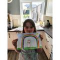 A rainbow of hope