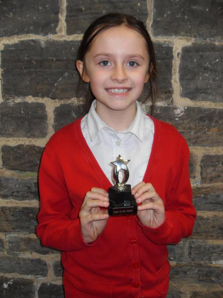 October Pupil of the Month