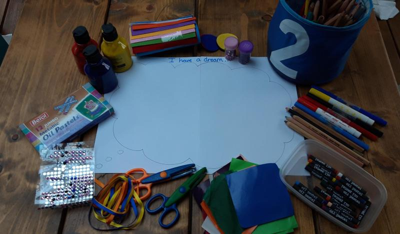 Some of the things you could use to create your dream cloud. Use your imagination!