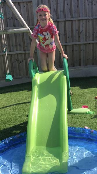 Fun in the paddling pool