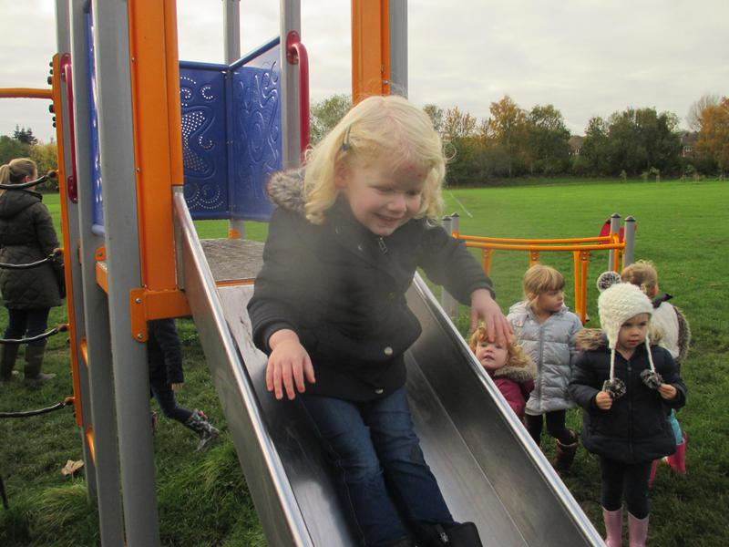 Time for a slide!