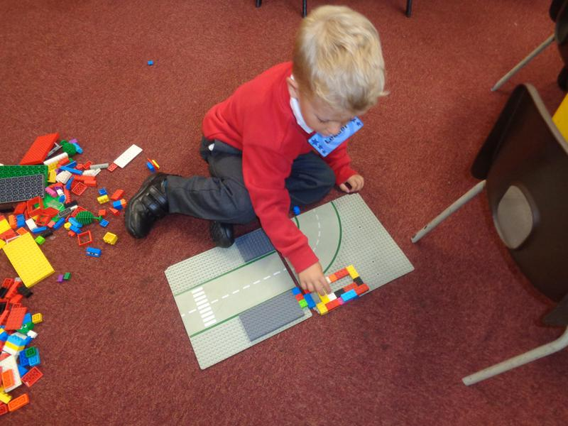 Building with the lego