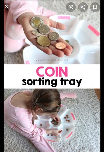 Sort coins.