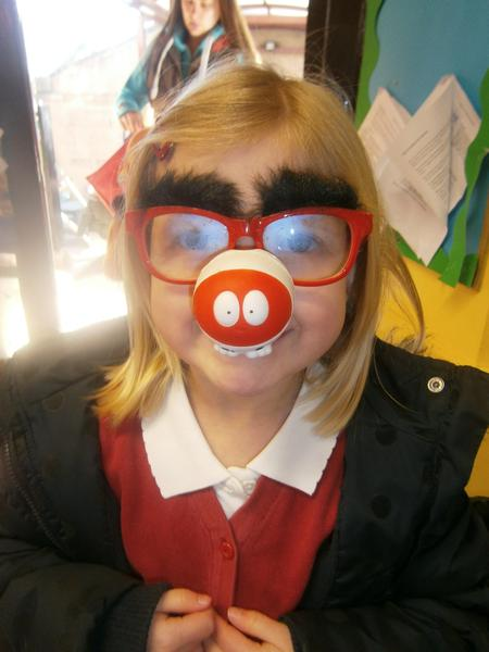 Red Nose Day dress up