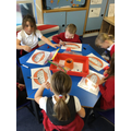 Working on our letter formation