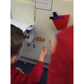 Phonics - Building words in the Phonics area to help Sonic with his Phonics