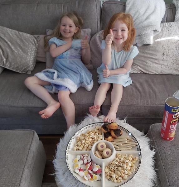Snacks and movie night 🎬🍿