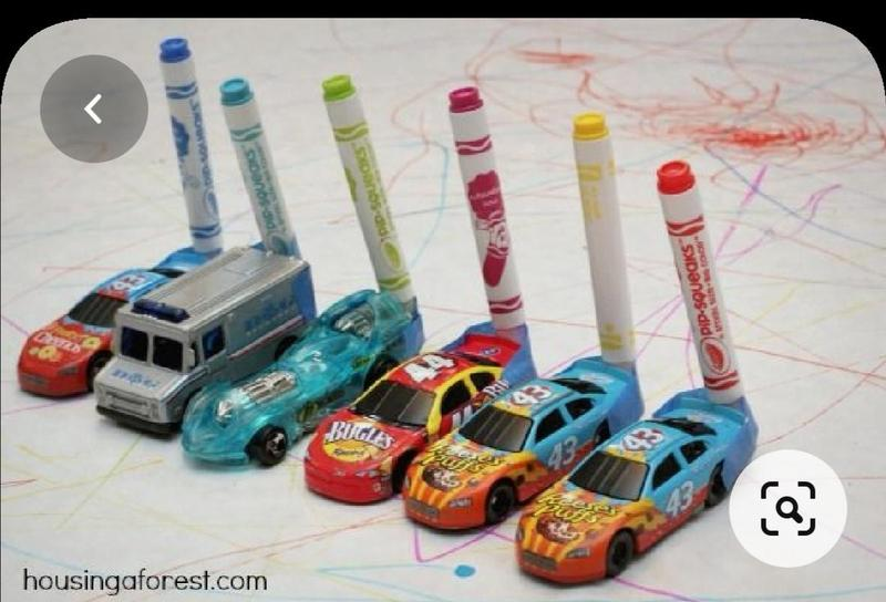 Add pens to cars.