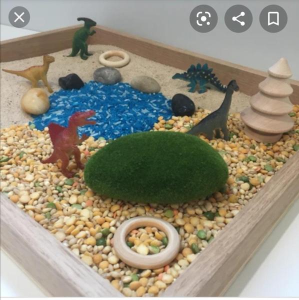 Dino tray