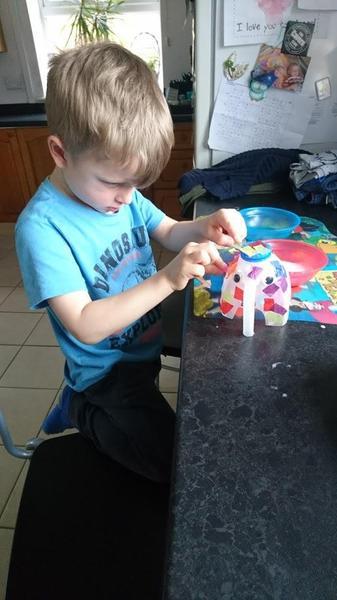 Making an Elmer the Elephant