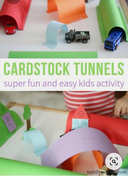 Card tunnels