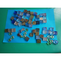 Making pictures and letters with objects