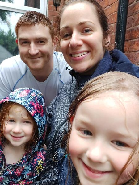 Family fun in the rain!