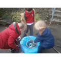 We made our own polar whirlpool