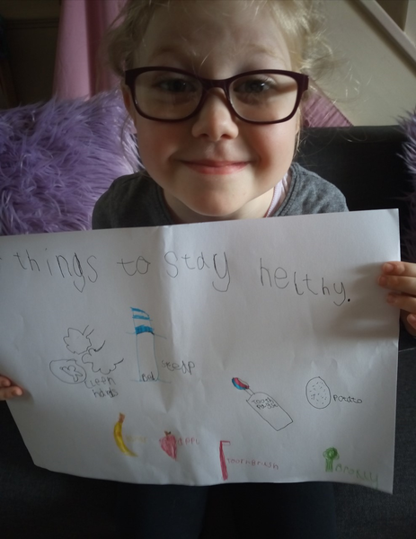 What a great healthy eating poster