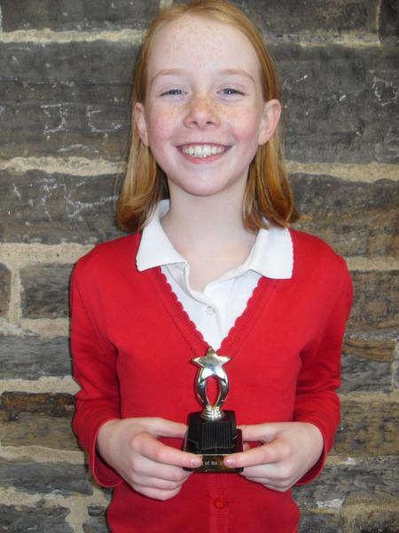 January Pupil of the Month