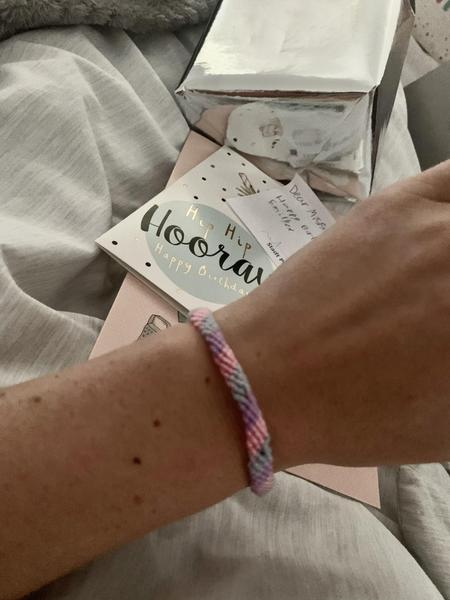 Thankyou Emily B for my bracelet, LOVE the colours