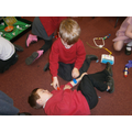 Playing doctors in role play- learning how we grow