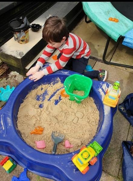 My sandpit.