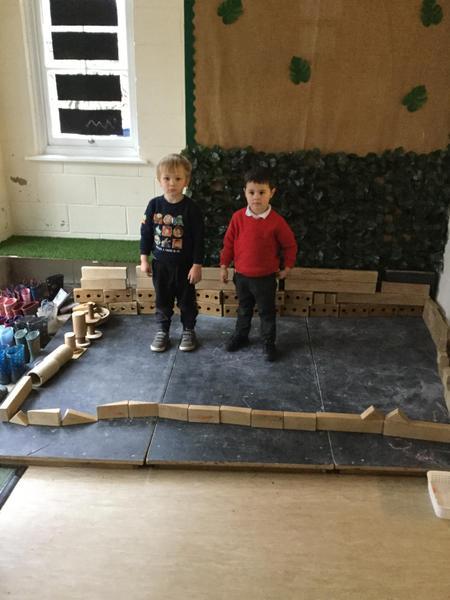 We built a wall.