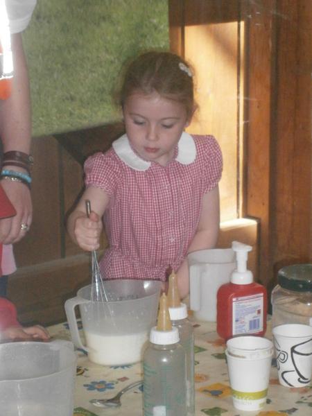 Making goat milk