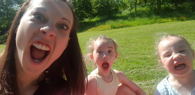 Funny faces!