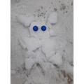 A snow alien!