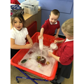 Can we make the frog sink by filling it with water?