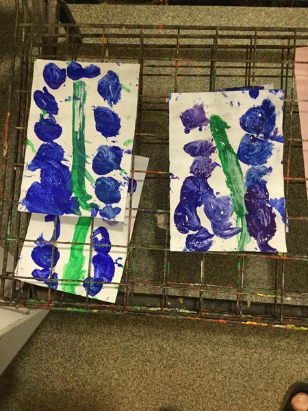 Painting bluebells 💜💙