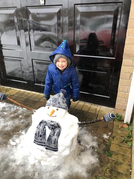 Another fab snowman!