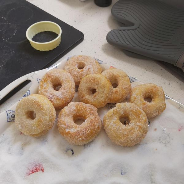 Yummy home made donuts!